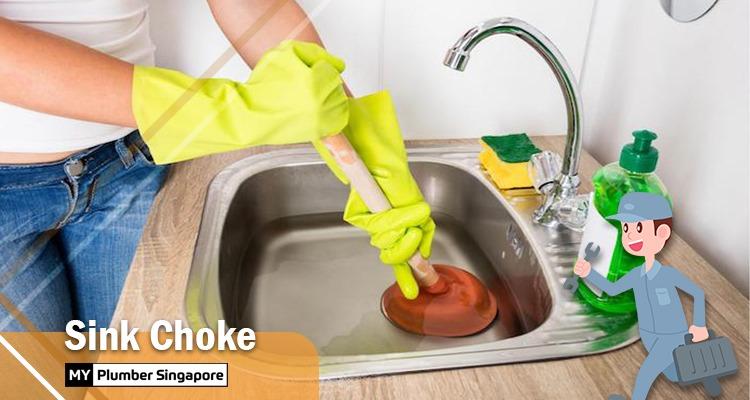 sink choke