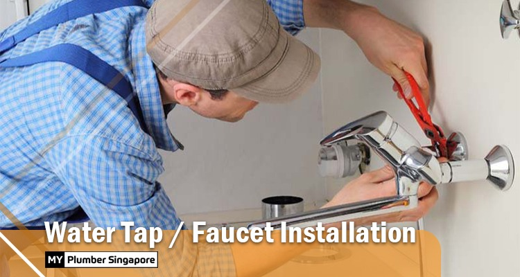 water tap faucet installation