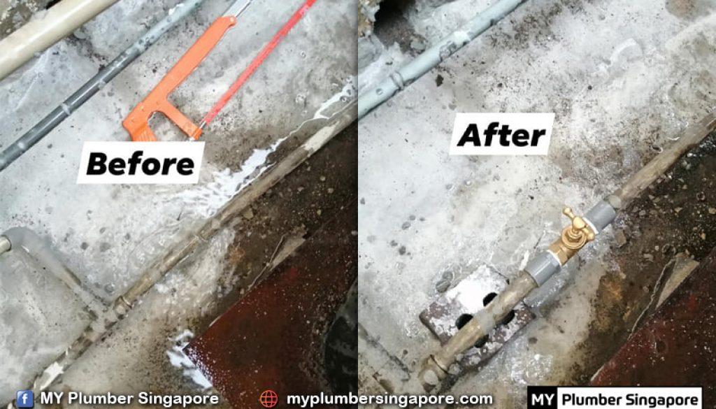 kitchen plumber singapore